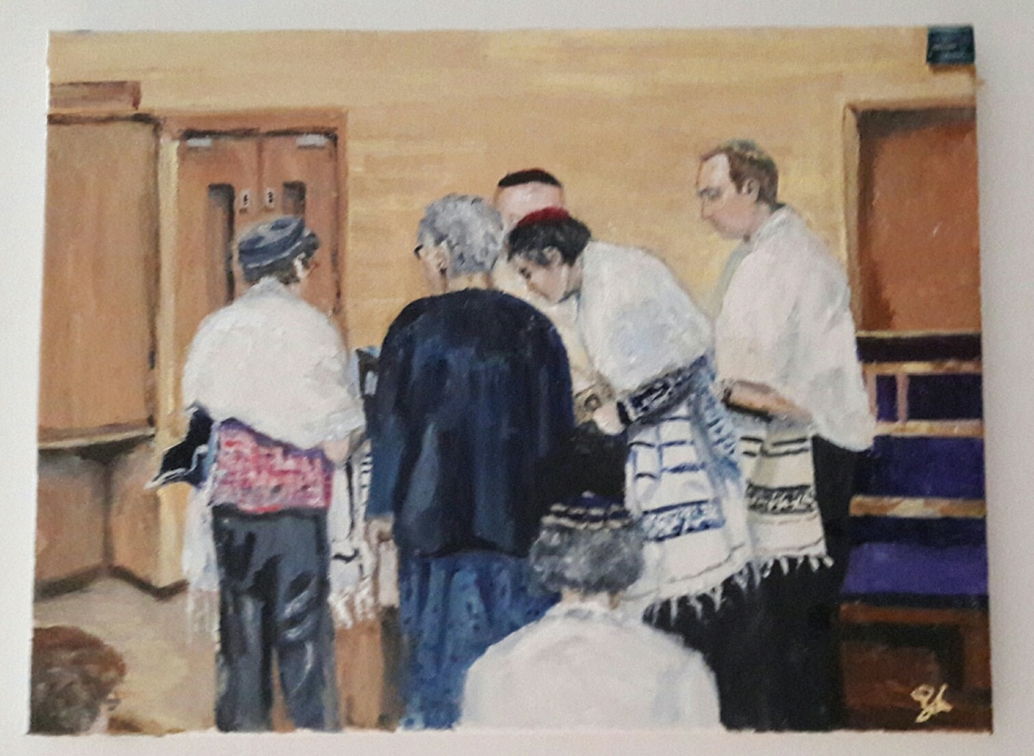 Torah reading finished