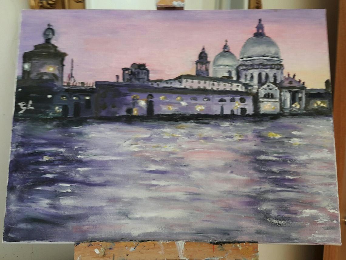 Venice in Magenta 2